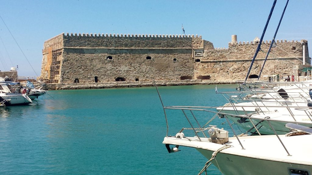 The Koules Fortress in Heraklion